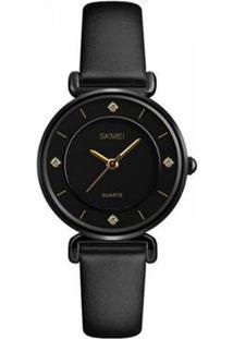 Relógio Skmei Analógico Feminino - Feminino-Preto