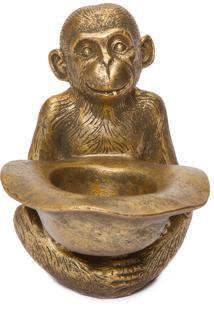 Luminária Monkey - Dourado