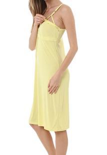 Camisola Amamentação Rmb Lingerie Liganete Amarelo