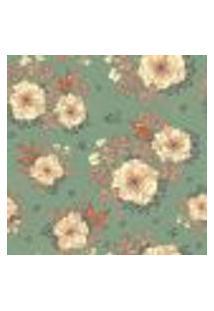 Papel De Parede Autocolante Rolo 0,58 X 3M - Flores 284555972