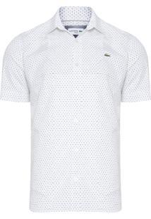 Camisa Masculina Manga Curta - Branco