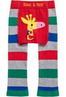 Meia Calça Legging Girafa Blade And Rose Vermelho