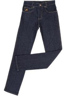 Calça Jeans Tradicional Coutry & Cia Masculina - Masculino-Marinho