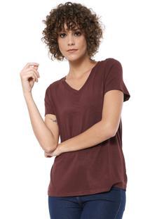 Camiseta Mob Básica Vinho