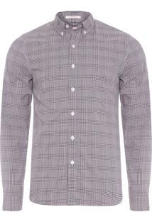 Camisa Masculina Classic - Cinza