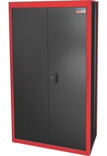 Armário 2 Portas Com Prateleira Vermelho 44955310 Tramontina