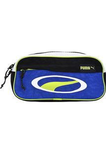 Pochete Puma Cell Waist Bag - Unissex-Preto+Azul