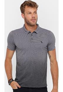 Camisa Polo Reserva Malha Degradê Masculina - Masculino