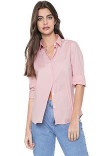 Camisa Ellus Básica Rosa