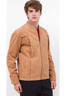 Jaqueta Em Veludo Cotelê