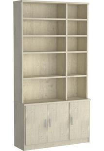 Estante Livraria 3 Pts 1280 Marfim Areia Foscarini