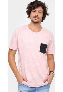 Camiseta Redley Bolso Bicolor Masculino - Masculino