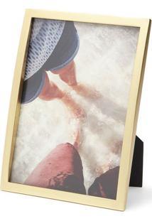 Porta Retrato Senza 13X18 Dourado Umbra