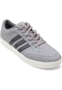Tênis Adidas Vs Set W Feminino - Feminino-Cinza