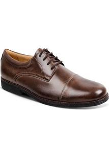Sapato Social Masculino Derby Sandro Moscoloni Jorge Marrom