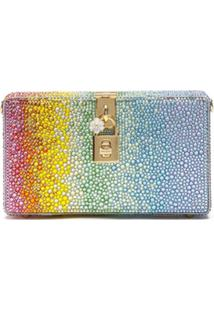 Dolce & Gabbana Clutch Rainbow Collection - Verde