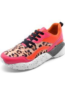 f96579310fc76 Dafiti. Tênis Fiveblu Dad Sneaker Chunky Rosa