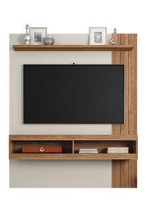 Painel Bancada Suspensa Para Tv Até 55 Polegadas Norton 1.5 Off White/