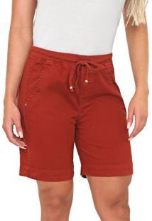Bermuda Bloom Jeans Jogger Terra - Kanui