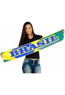 Cachecol Brasil Alta Definição - Unissex