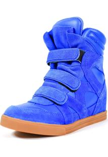 Tênis Sneaker Qix Higher Azul Royal