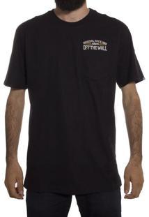 Camiseta Vans Since 66 Pocket Tee Black