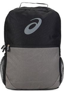 Mochila Asics Logo Backpack - Unissex-Preto