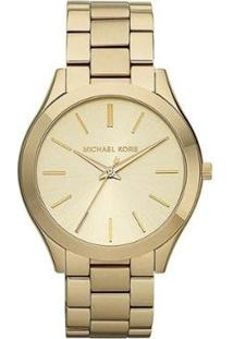Relógio Feminino Michael Kors Mk3179/4Dn - Feminino-Dourado