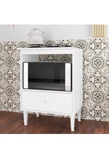 Armário De Cozinha 1 Gaveta Dubai Branco - Art In Móveis