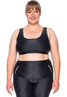 Top Fitness Plus Size Ju New Micro - Feminino