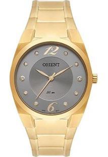 Relógio Orient Feminino Classic Analógico - Feminino-Dourado