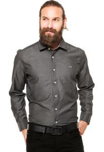 Camisa Mr Kitsch Botões Preta