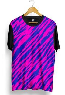 Camiseta Bsc Zebra Stripes Full Print - Masculino