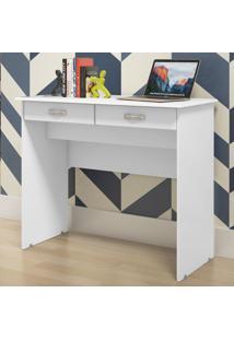 Mesa Para Computador 2 Gavetas 04000 Branco - Ej Móveis