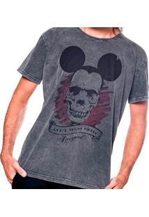 Camiseta Estonada Skull Mouse Liverpool Masculina - Masculino
