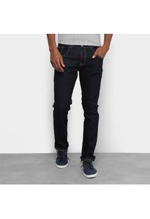 Calça Jeans Rock Blue Reta Masculina - Masculino
