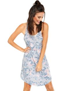 Camisola Cor Com Amor Floral Azul