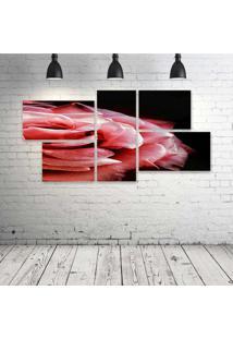 Quadro Decorativo - Pink - Composto De 5 Quadros
