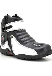Coturno Motociclista Atron Shoes Masculino - Masculino