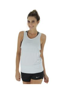 Camiseta Regata Nike Dry Tank Loose Rbk - Feminina - Cinza Claro