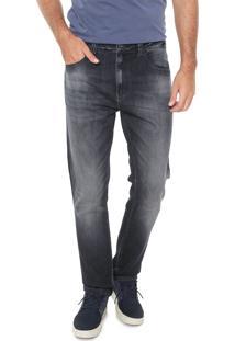Calça Jeans Ellus Reta Estonada Azul