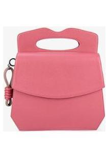 Bolsa Handbag Soleah Manton Feminino - Feminino-Rosa