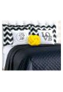Cobre Leito Preto Isabela Queen Siza 8 Peças Com Porta Travesseiro E Almofada Nó Escandinavo