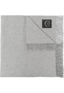Karl Lagerfeld Cachecol K/Lounge De Lã Mista - Cinza