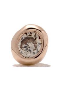 Wouters & Hendrix Gold 18Kt Gold Diamond Single Earring - Pink Gold
