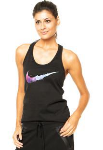 Regata Nike Sportswear Swoosh Splatter Preta