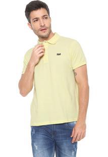 6c91a5a3a1 ... Camisa Polo Rock Soda Reta Logo Amarela
