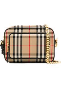 Burberry Vintage Check Crossbody Bag - Neutro