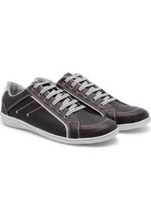 Sapatênis Style Prime Shoes Cadarço Masculino - Masculino-Cafe