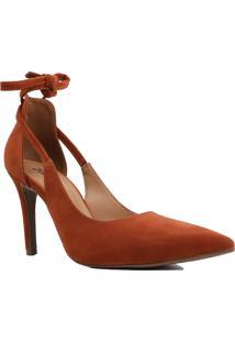 Sapato Scarpin Aberto Zariff Salto Fino